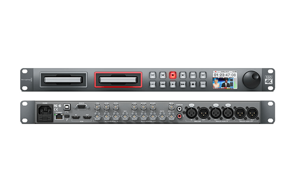 Blackmagic Design HyperDeck Studio Pro2 データ収録・再生デッキ